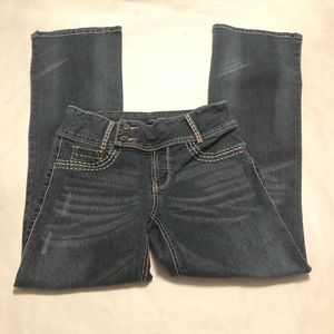 Fade To Blue Modern Flare Women's Jeans Size 8